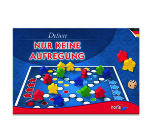 Noris Spiele Deluxe - Nur keine Aufregung; 606101416