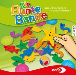 Noris Spiele Die bunte Bande; 606011639