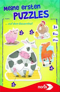 Noris Spiele Meine ersten Puzzles - Auf dem Bauernhof; 606031460