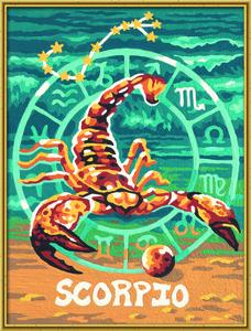 Noris Spiele Malen nach Zahlen - Tierkreiszeichen Skorpion; 609390679