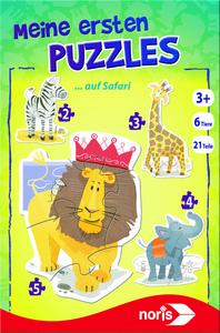 Noris Spiele Meine ersten Puzzles - Auf Safari; 606031458