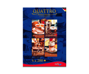 Noris Spiele Quattro Puzzle 800tlg. Kaffeepause; 606038019