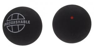Unsquashable Squash-Ball UNSQUASHABLE rot,  2er Blisterpack