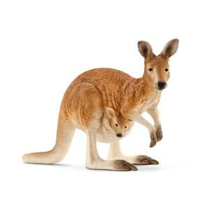 Schleich 14756 - Känguru, mehrfarbig