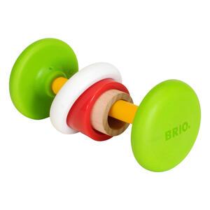 BRIO Motorik-Greifling, Rassel, Beißring, Kauring, Greifring, Babyspielzeug, Holz Spielzeug, 30442