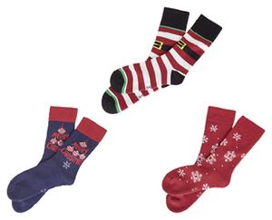 Xmas-Socken, 2 Paar