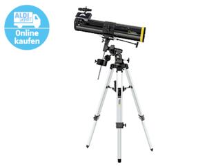 Spiegelteleskop für Einsteiger 76/700 EQ1