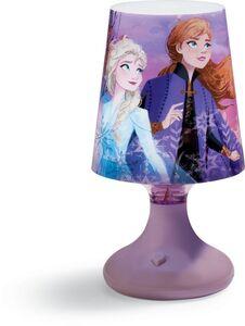 RGB Tischlampe Disney Frozen II -  Elsa & Anna, hellviolett