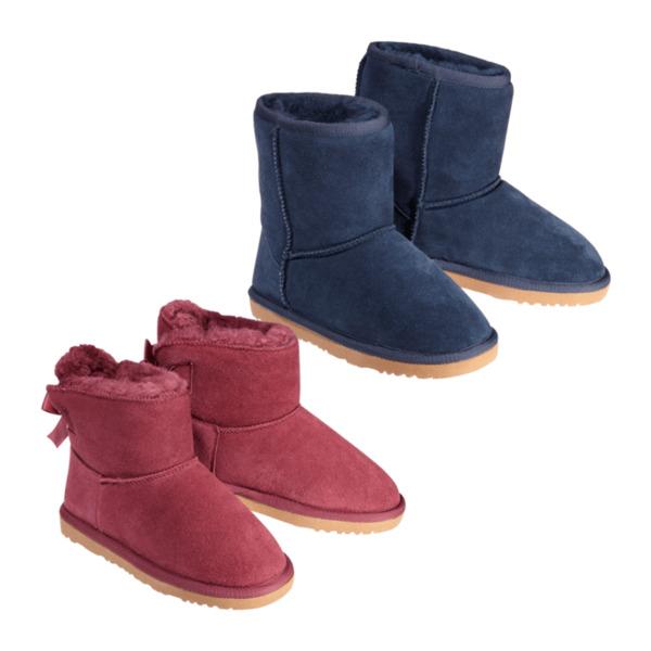 WALKX     Lammfell-Boots