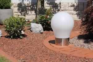"""Leco Gartenleuchte ,,Design Glühbirne"""""""