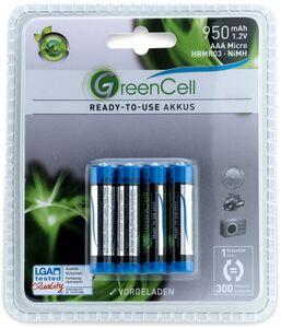 GreenCell Ready-to-use Akkus, AAA- 950 mAh