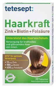 tetesept Haarkraft 30 Stück Inhalt 15,4g