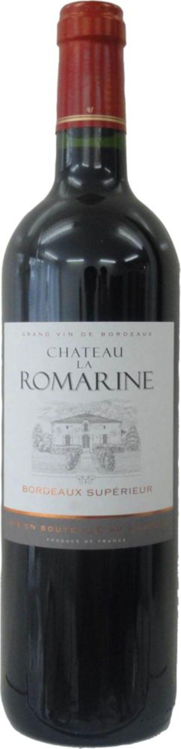 Chateau La Romarine AOC Bordeaux Supe, 0,75 Liter