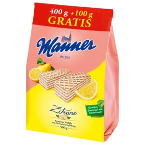 Manner Zitronencreme Schnitten 500g