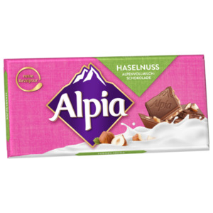 Alpia Alpenmilch-Nuss 100g