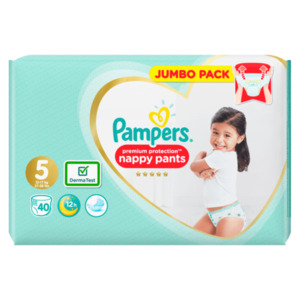 Pampers Premium Protection nappy pants Jumbo Pack 40 Stück