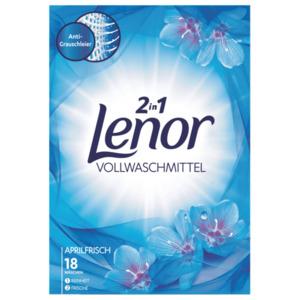 Lenor Vollwaschmittel 2 in 1 Aprilfrisch 18 WL 1.17 kg