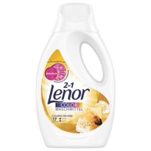 Lenor Color Waschmittel flüssig Goldene Orchidee 935ml, 17WL