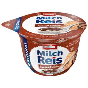 MÜLLER Milchreis limitiert Typ Schoko & Spekulatius