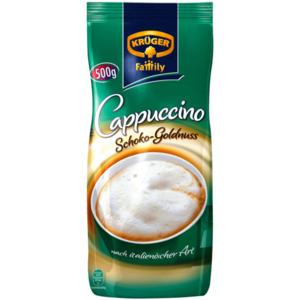 Krüger Family Cappuccino Schoko-Goldnuss 500g