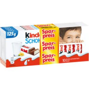 Ferrero Kinderschokolade oder Yogurette
