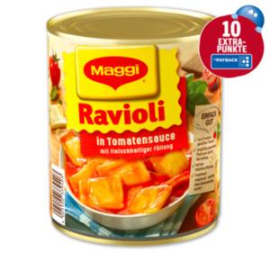 MAGGI Ravioli oder Raviolini