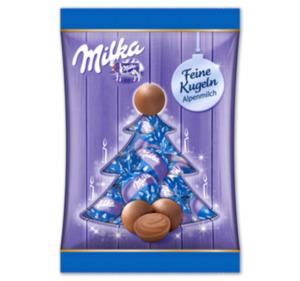 MILKA Weihnachtskugeln
