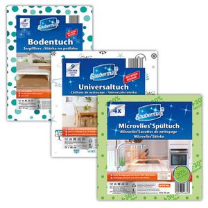 Saubermax Microvlies Spül-/ Boden-/ Universaltuch