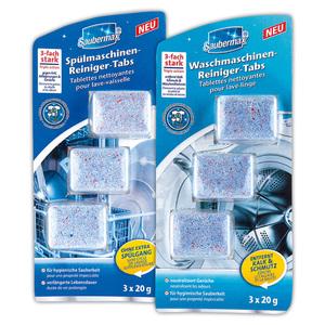Saubermax Spül-/ Waschmaschinen-Reiniger-Tabs