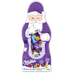 Milka Naps Weihnachtsmann