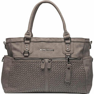 XXXL WICKELTASCHE Monaco Braided Little Company, Braun