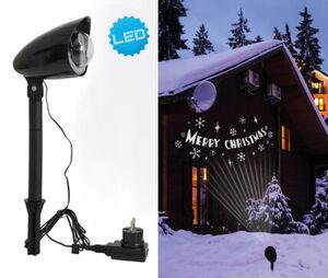 "Näve LED Projektionsleuchte ""Merry Christmas"""