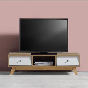 TV-Element in Pinienfarben/ Weiß 'Enny'
