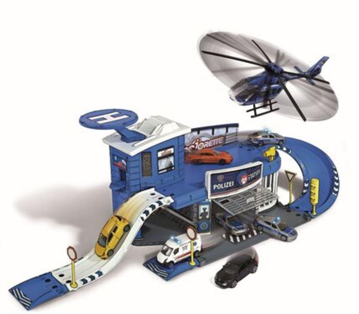 Bild 3 von Dickie Toys Creatix Polizei Station + 1 Car