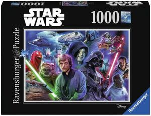 Ravensburger Puzzle - Star Wars Collection 3, 1000 Teile