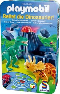 Schmidt Spiele Playmobil - Rettet die Dinosaurier! In Metalldose