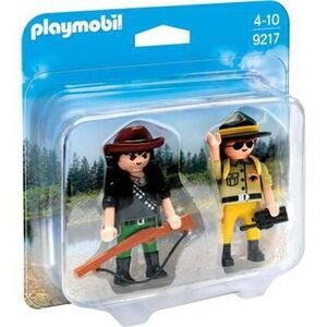 PLAYMOBIL® 9217 - Duo Packs - Duo Pack Ranger und Wilddieb