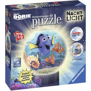 Ravensburger 3D Puzzle Nachtlicht: Findet Dorie, 72 Teile