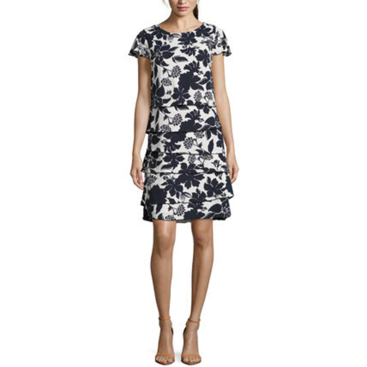 Bild 3 von Betty Barclay Damen Kleid Kurzarm, mit Print
