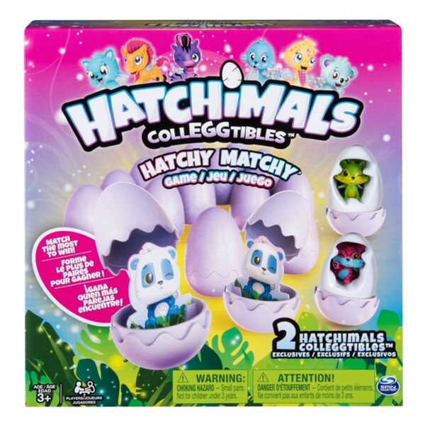Hatchimals - CollEGGtibles: Hatchy Matchy Spiel