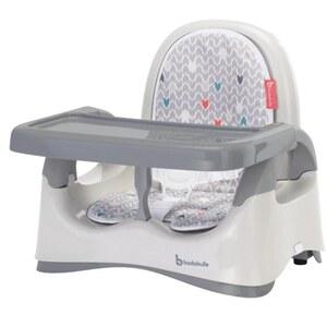 Badabulle - Sitzerhöhung Komfort, grau