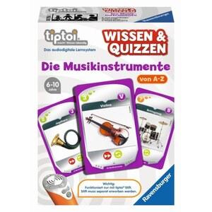 Ravensburger - tiptoi Spiel: Wissen & Quizzen - Die Musikinstrumente
