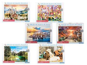 Clementoni Puzzle 1500 / 2000 Teile