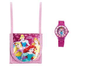 Armbanduhr Kinder, mit Brustbeutel, Quarzuhr mit kindgerechtem Ziffernblatt