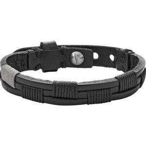 """Fossil Herren Armband Vintage Casual """"JA6931040"""", Leder"""