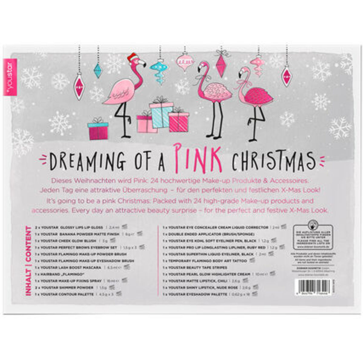 Bild 1 von youstar Adventskalender Dreaming of a Pink Christmas 2018