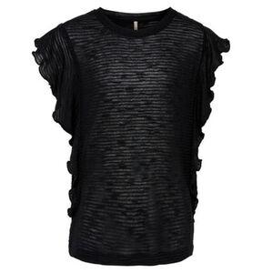 Only Shirt, Rüschen, uni, für Mädchen