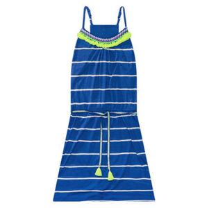 Jette Kleid, Sommer, Block-Streifen, für Mädchen, 641 ROYAL, 164