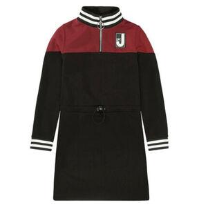 Jette Kleid, sportlich, Reißverschluss, für Mädchen, schwarz, 152