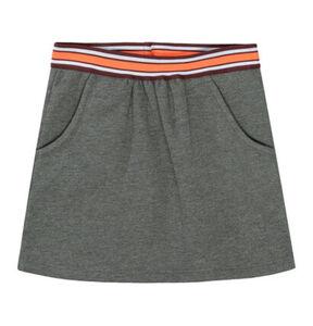 Jette Sweatrock, A-Linie, für Mädchen, dunkelgrau, 152